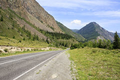 Beautiful Chuysky Trakt in Altai Mountains Royalty Free Stock Photos
