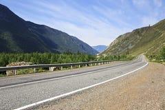 Beautiful Chuysky Trakt in Altai Mountains Stock Image