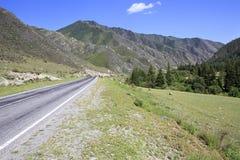 Beautiful Chuysky Trakt in Altai Mountains Stock Photos