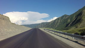 Beautiful Chuysky Trakt in Altai Mountains stock footage