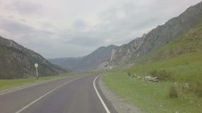 Beautiful Chuysky Trakt in Altai Mountains. stock footage