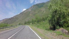 Beautiful Chuysky Trakt in Altai Mountains. Beautiful Chuysky Trakt in the Altai Mountains stock footage