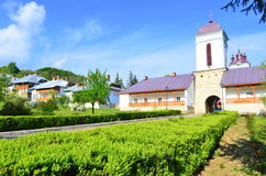 Beautiful Ciolanu monastery Royalty Free Stock Images
