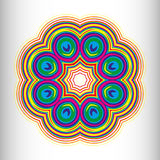 Beautiful circular pattern for your design Royalty Free Stock Photography