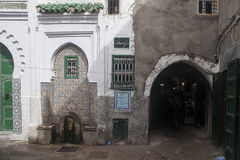 Beautiful cities in northern Morocco, Tetouan Royalty Free Stock Photos