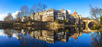 Beautiful cities of Portugal - Amarante Royalty Free Stock Image