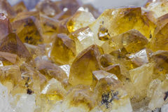 Beautiful Citrine Royalty Free Stock Photography