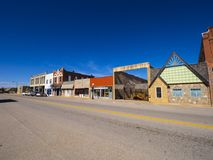 The beautiful city center of Stroud - a small town in Oklahoma. USA 2017 Stock Photos