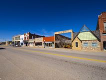 The beautiful city center of Stroud - a small town in Oklahoma. USA 2017 Stock Image