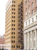 The beautiful city center of Tulsa Oklahoma Royalty Free Stock Photos