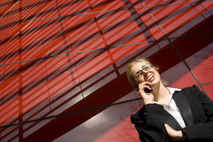 beautiful city executive Στοκ φωτογραφία με δικαίωμα ελεύθερης χρήσης