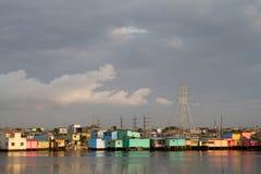 Beautiful city of Guayaquil, Ecuador. View of the beautiful city of Guayaquil by the Guayas river, Ecuador stock photography