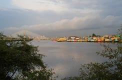 Beautiful city of Guayaquil view, Ecuador Stock Images