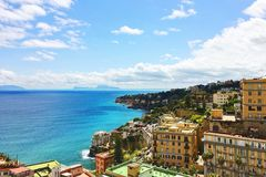 Incredible Naples view Royalty Free Stock Photography
