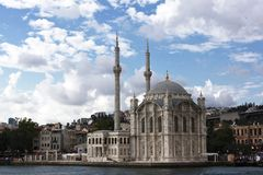 Beautiful City Of Istanbul Turkey stock images