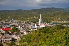 Beautiful city of Montecristi in the Ecuadorian Stock Images