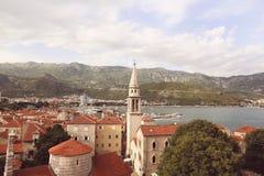 Beautiful city near the sea Stock Image