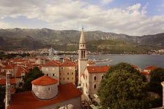 Beautiful city near the sea Royalty Free Stock Photos