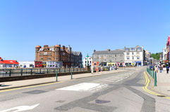 The beautiful city of Oban Stock Image