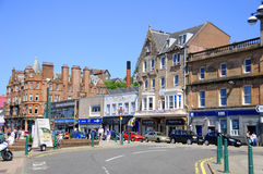 The beautiful city of Oban Royalty Free Stock Photography