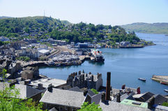 The beautiful city of Oban Royalty Free Stock Images