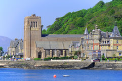 The beautiful city of Oban Stock Images