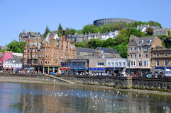 The beautiful city of Oban Royalty Free Stock Photo