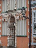The city of Stade in Germany. The beautiful City and the old houses of Stade in Germany Stock Photo