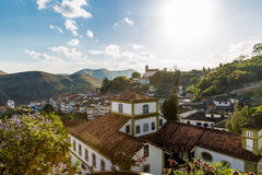 The beautiful city of Ouro Preto in Minas Gerais, Brazil Royalty Free Stock Photo