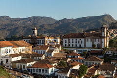 The beautiful city of Ouro Preto in Minas Gerais, Brazil Stock Photography