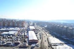 The beautiful city Penza. Stock Photo