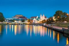 A beautiful city promenade Royalty Free Stock Photo