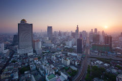 Beautiful city scape urban scene  of bangkok capital of thailand Stock Photo