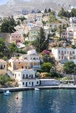 Beautiful city of Symi. Paradise on earth Royalty Free Stock Image