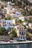 Beautiful city of Symi. Paradise on earth Royalty Free Stock Photo