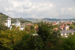 Beautiful city view Stock Photo