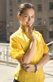 Beautiful city woman Royalty Free Stock Photos