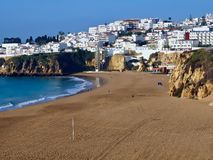Beautiful cityscape of Albufeira in Portugal royalty free stock image