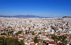 Beautiful cityscape of Athens Stock Photography