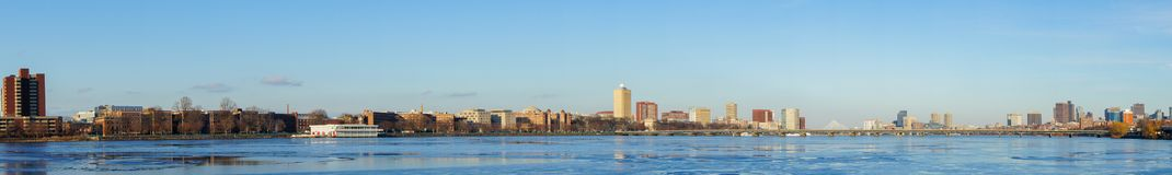 Beautiful cityscape with Charles river. At Boston, Massachusetts, United States Stock Photo