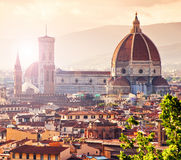 Beautiful cityscape of Florence royalty free stock photo