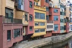 Beautiful cityscape of Girona, Spain Royalty Free Stock Photo