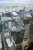 Beautiful cityscape of Melbourne, Australia. Aerial view from sk Stock Photography