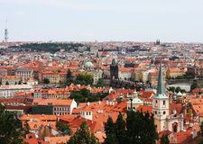 Beautiful cityscape of Prague Royalty Free Stock Image