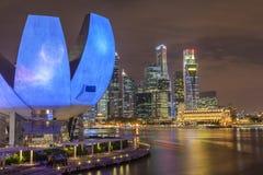 Beautiful cityscape of Singapore skyline Stock Image