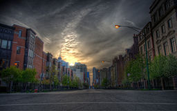 Beautiful cityscapes Stock Images