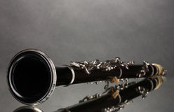 Beautiful clarinet Royalty Free Stock Images