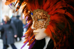 Beautiful clasical mask in Venice Royalty Free Stock Image