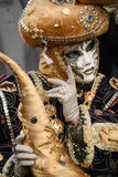 Beautiful clasical mask in Venice Stock Photo
