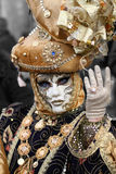 Beautiful clasical mask in Venice Stock Images